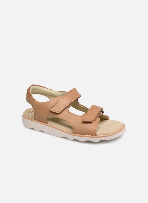 Sandales et nu-pieds Clarks Crown Root K Beige vue détail/paire