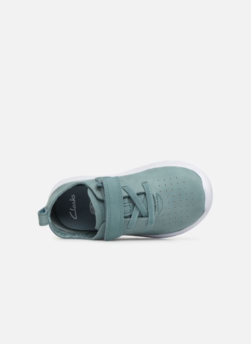 Trainers Clarks Ath Elite Green view from the left