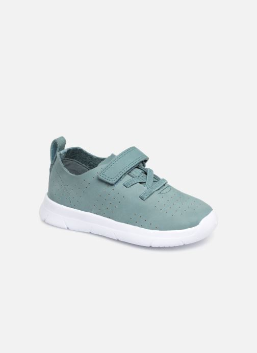 Trainers Clarks Ath Elite Green detailed view/ Pair view