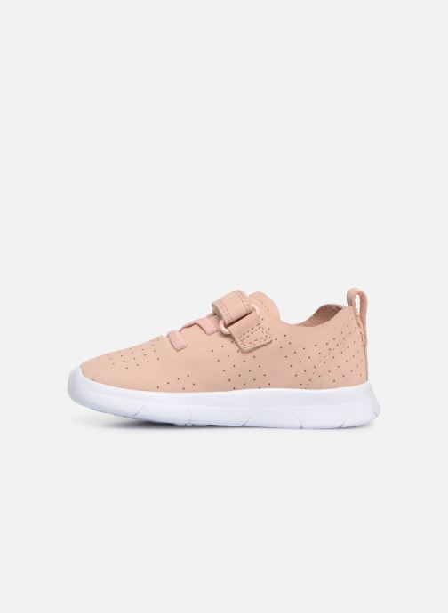 Trainers Clarks Ath Elite Pink front view
