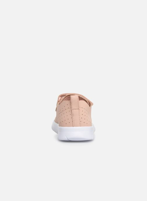 Trainers Clarks Ath Elite Pink view from the right
