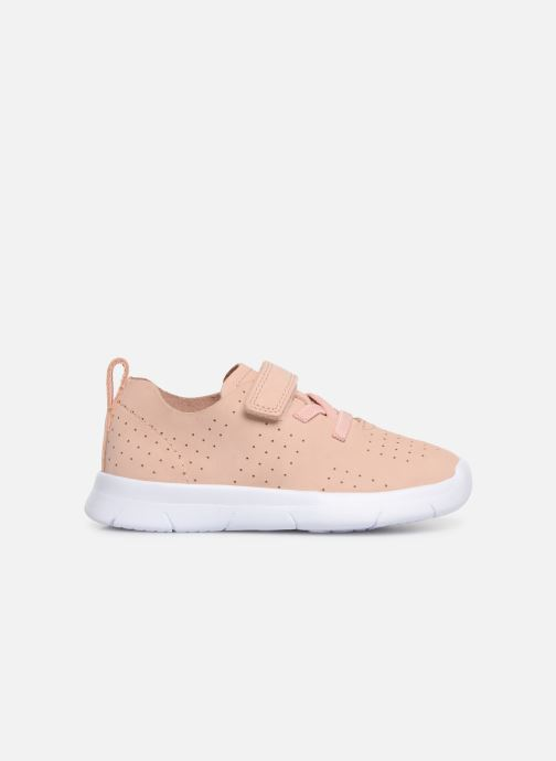 Trainers Clarks Ath Elite Pink back view