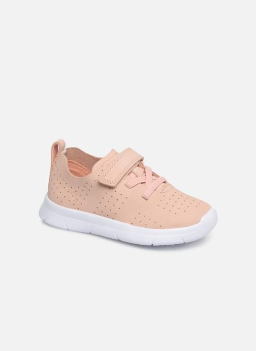 Trainers Clarks Ath Elite Pink detailed view/ Pair view