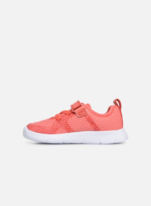 Trainers Clarks Ath Flux Pink front view