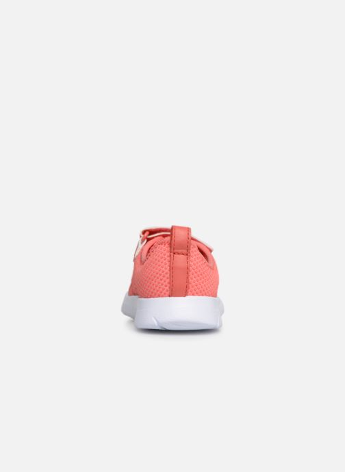 Trainers Clarks Ath Flux Pink view from the right