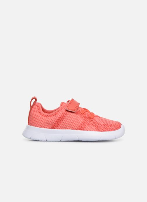 Trainers Clarks Ath Flux Pink back view