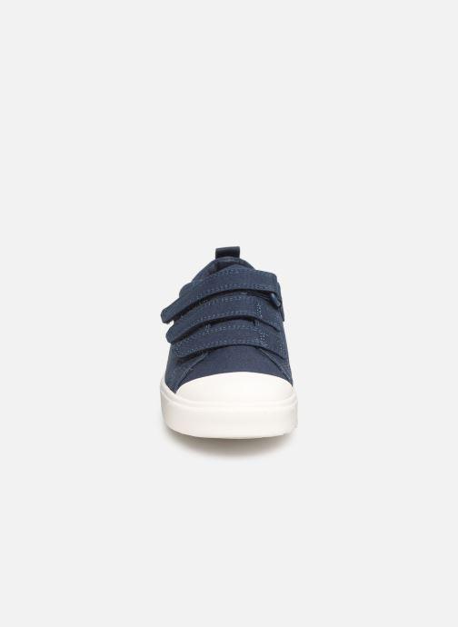 Baskets Clarks City FlareLo K Bleu vue portées chaussures