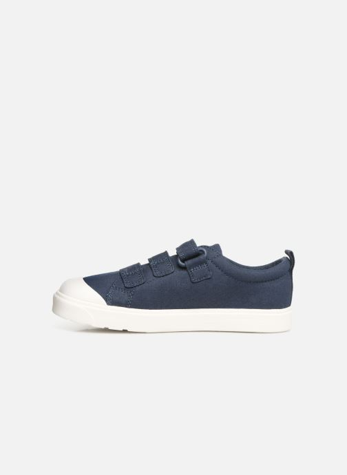 Trainers Clarks City FlareLo K Blue front view