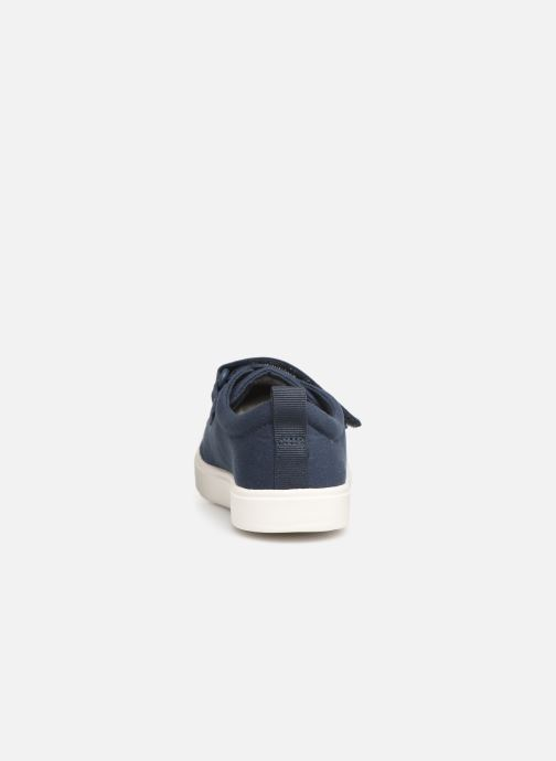 Trainers Clarks City FlareLo K Blue view from the right