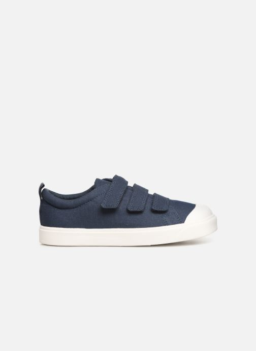 Trainers Clarks City FlareLo K Blue back view