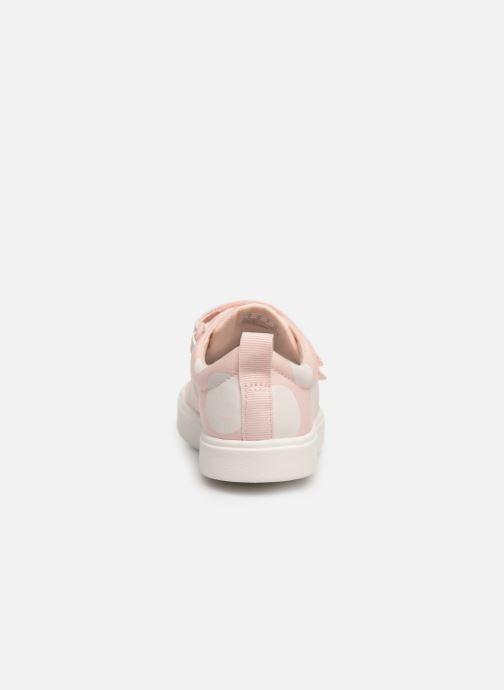 Sneakers Clarks City FlareLo K Roze rechts