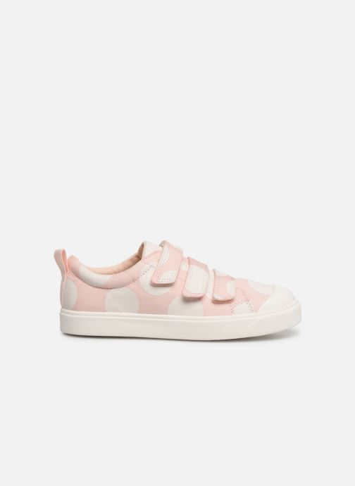 Sneakers Clarks City FlareLo K Roze achterkant