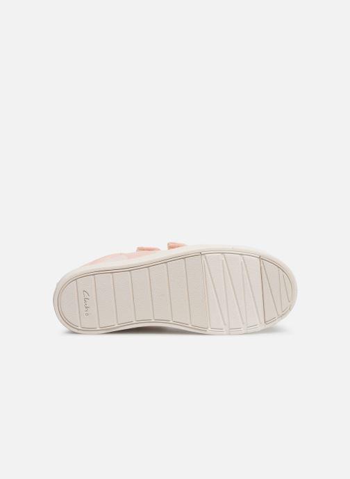 Sneakers Clarks City FlareLo K Roze boven
