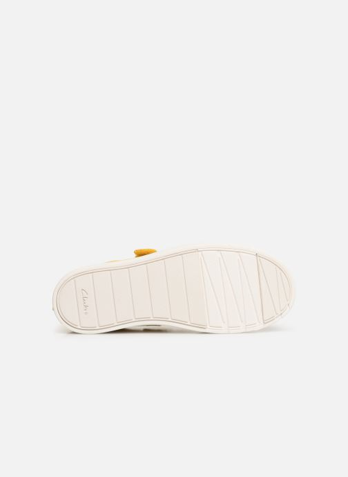 Trainers Clarks City FlareLo K Yellow view from above