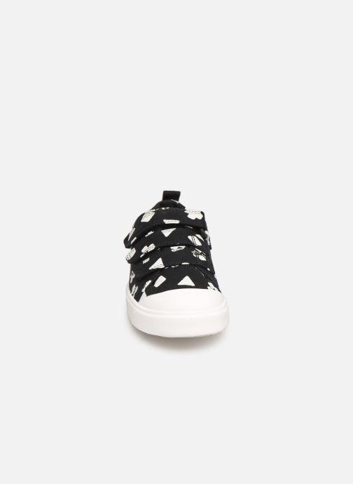 Baskets Clarks City FlareLo K Noir vue portées chaussures