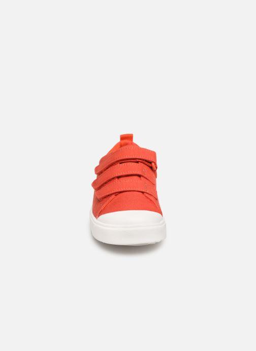 Baskets Clarks City FlareLo K Orange vue portées chaussures