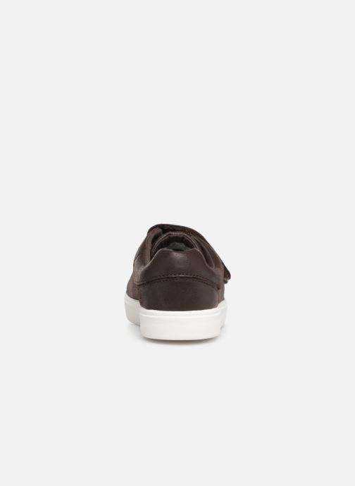 Trainers Clarks City OasisLo Brown view from the right
