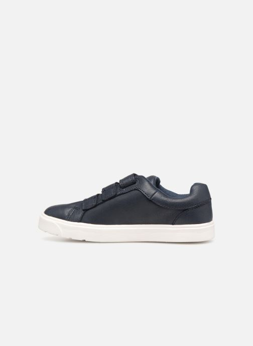 Baskets Clarks City OasisLo K Bleu vue face