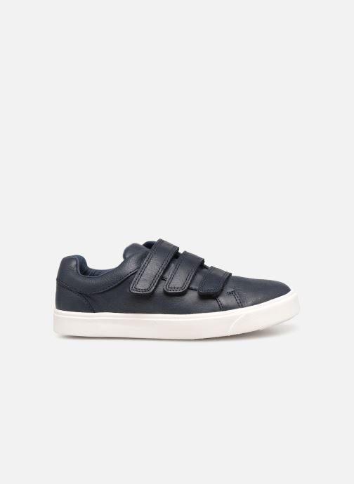 Trainers Clarks City OasisLo K Blue back view