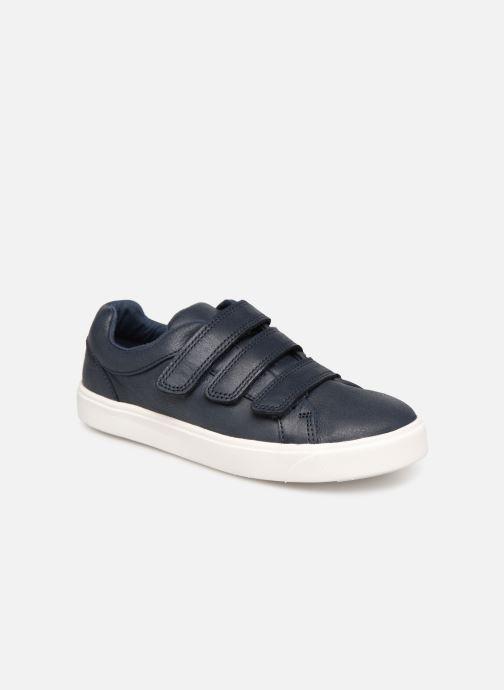 Sneakers Clarks City OasisLo K Blauw detail