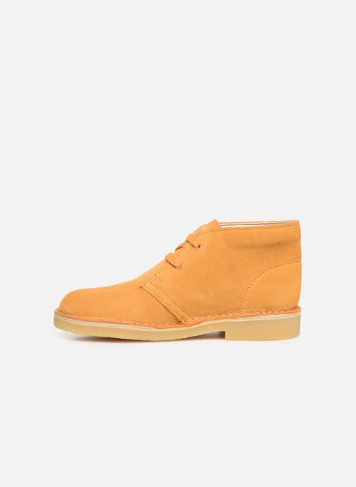 Chaussures à lacets Clarks Desert Boot... Marron vue face