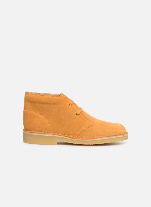 Chaussures à lacets Clarks Desert Boot... Marron vue derrière