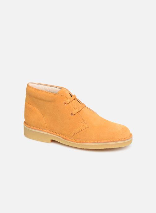 Chaussures à lacets Clarks Desert Boot... Marron vue détail/paire