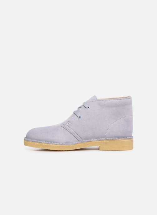 Chaussures à lacets Clarks Desert Boot... Bleu vue face