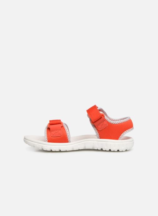 Sandales et nu-pieds Clarks Surfing Tide Orange vue face