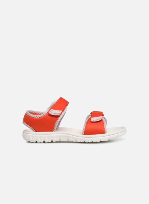 Sandales et nu-pieds Clarks Surfing Tide Orange vue derrière