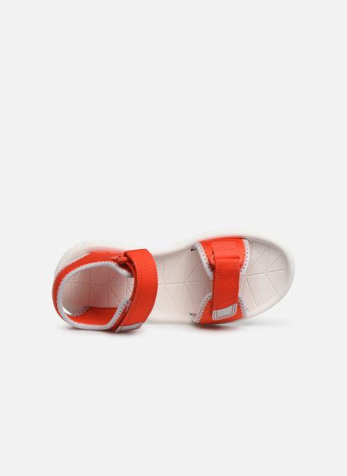 Sandales et nu-pieds Clarks Surfing Tide Orange vue gauche
