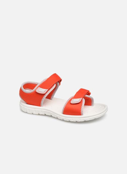 Sandales et nu-pieds Clarks Surfing Tide Orange vue détail/paire