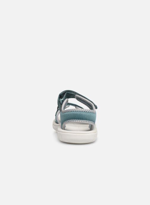 Sandales et nu-pieds Clarks Surfing Tide Bleu vue droite
