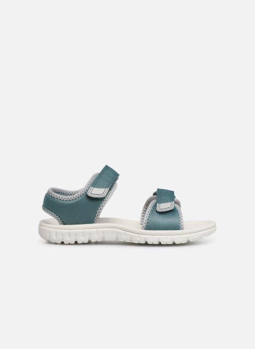 Sandales et nu-pieds Clarks Surfing Tide Bleu vue derrière