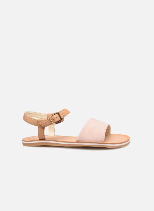 Sandales et nu-pieds Clarks Skylark Pure Rose vue derrière