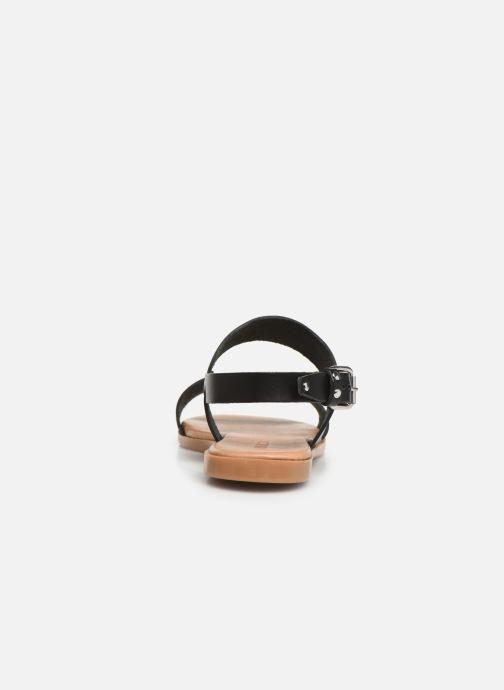 Sandalen Bianco 20-49962 Zwart rechts