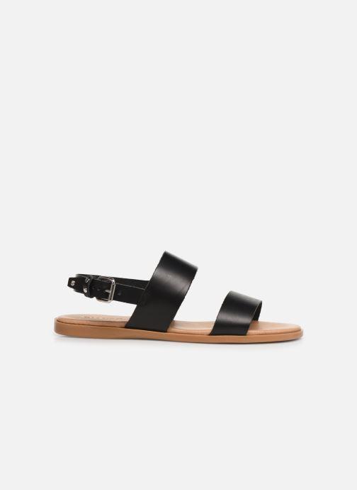 Sandalen Bianco 20-49962 Zwart achterkant