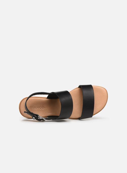 Sandalen Bianco 20-49962 Zwart links