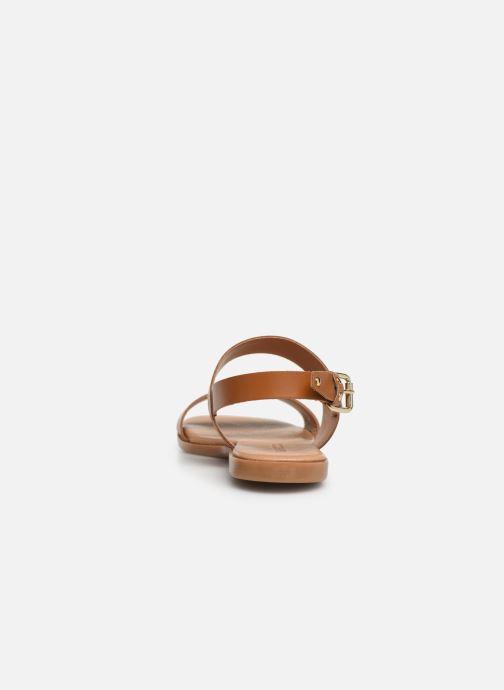 Sandalen Bianco 20-49962 Bruin rechts