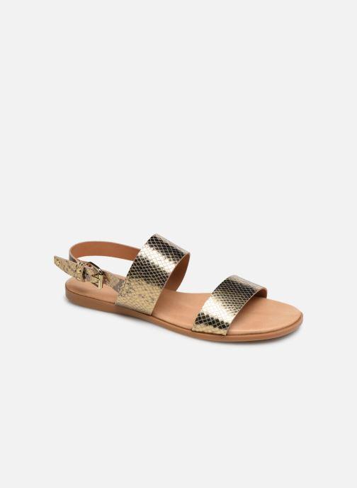 Sandales et nu-pieds Bianco 20-49962 Or et bronze vue détail/paire