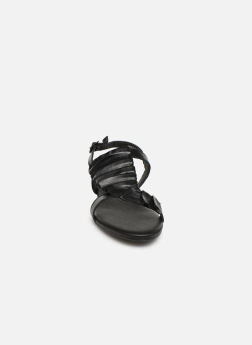 Sandalen Bianco 20-50043 schwarz schuhe getragen