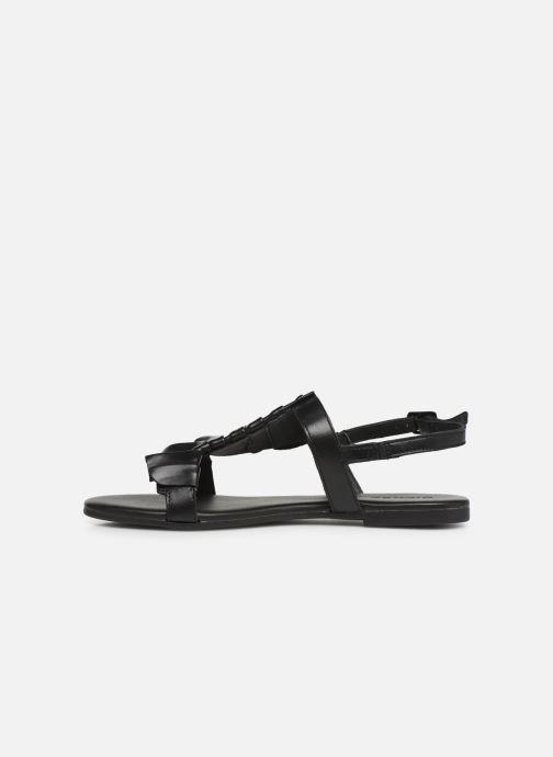 Sandalen Bianco 20-50043 schwarz ansicht von vorne