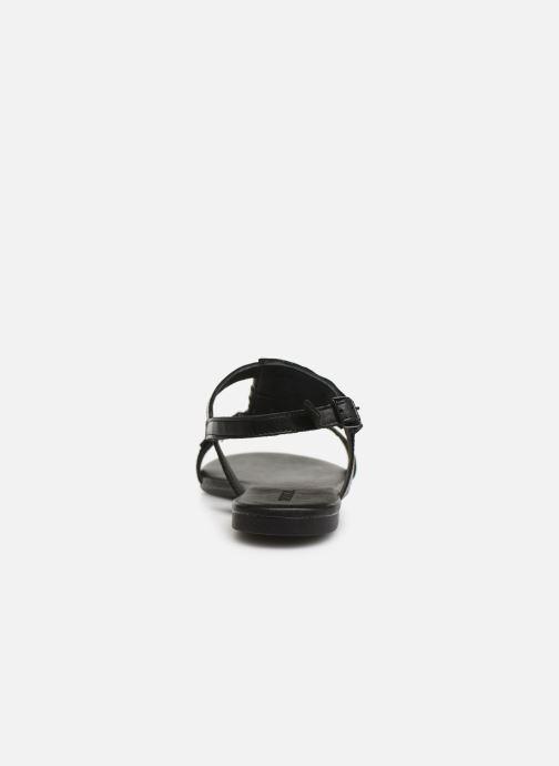 Sandalen Bianco 20-50043 schwarz ansicht von rechts