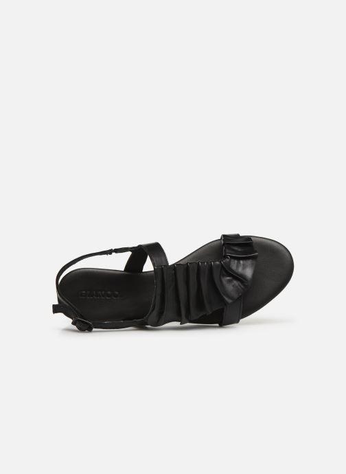 Sandalen Bianco 20-50043 schwarz ansicht von links