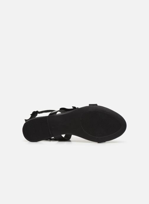 Sandalen Bianco 20-50043 schwarz ansicht von oben