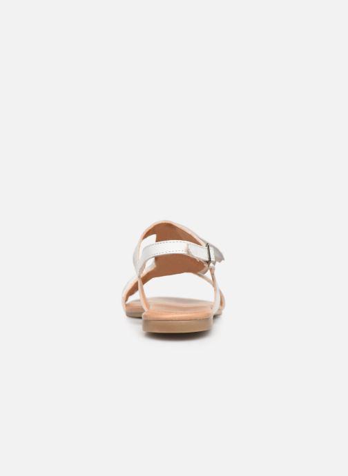 Sandalen Bianco 20-50043 Wit rechts