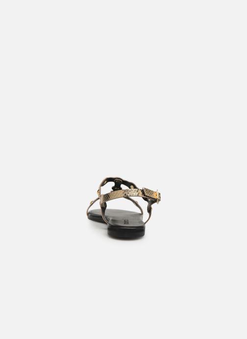 Sandalias Bianco 20-50045 Oro y bronce vista lateral derecha