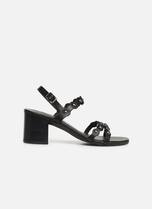 Sandalen Bianco 20-50058 Zwart achterkant
