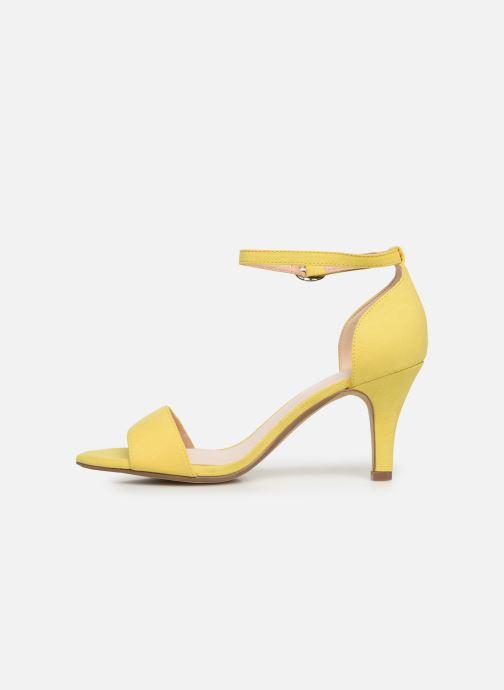 Sandales et nu-pieds Bianco 20-50098 Jaune vue face
