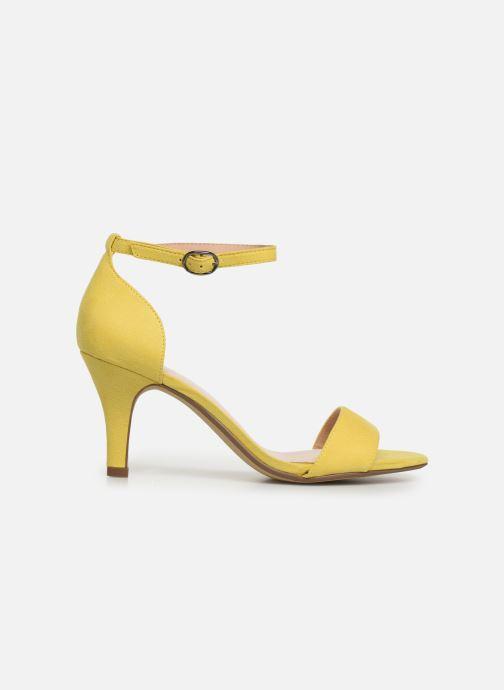 Sandales et nu-pieds Bianco 20-50098 Jaune vue derrière